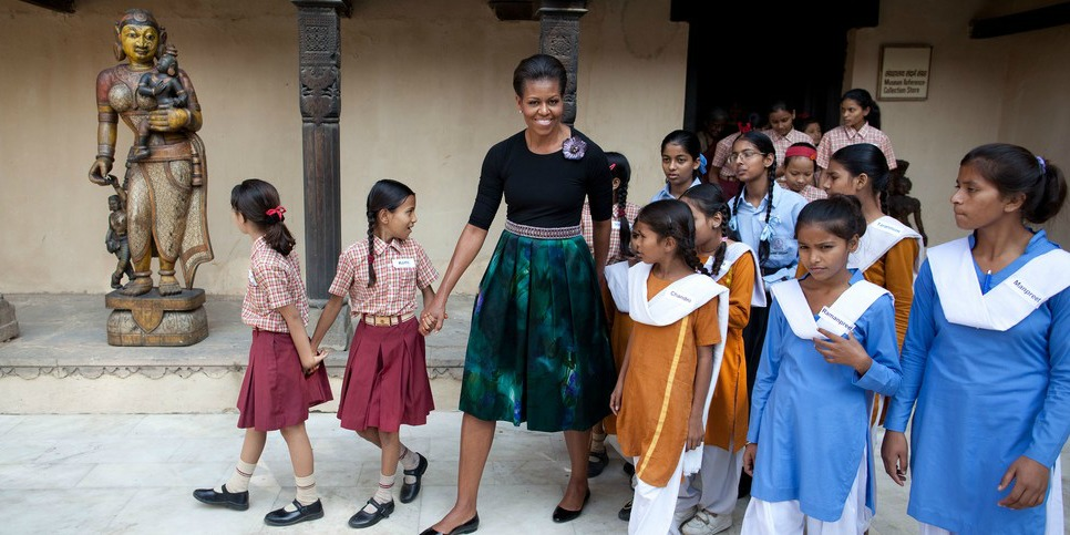 Join Michelle Obama's Campaign to Let Girls Learn Around the World