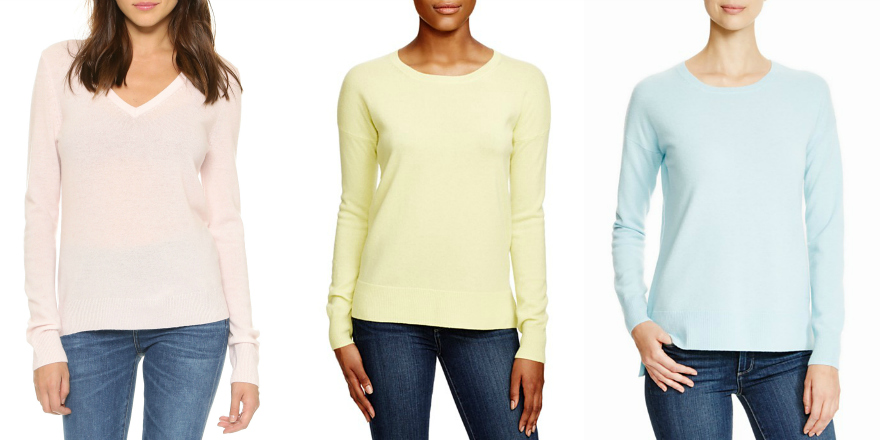 Marshmallow Colors: Winter's Biggest Sweater Weather Trend