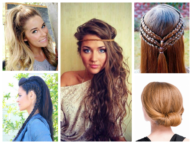 Serious Gems On I E Hair Pins That Are Easy To Recreate Bonus These Breezy Styles Definitely Ing For Spring
