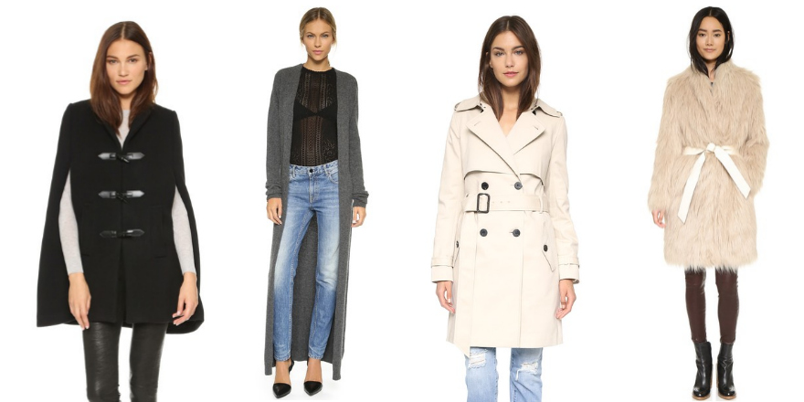 Four Fun Fall Coats To Bundle Up In This Season!