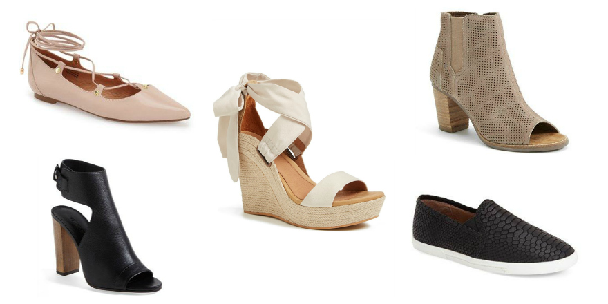 step into spring shoes