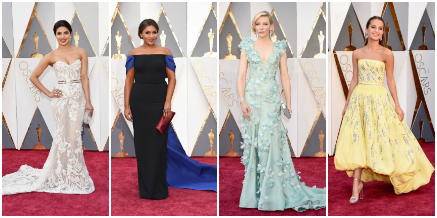 10 Leading Ladies Who Stole the Red Carpet at the 2016 Oscars