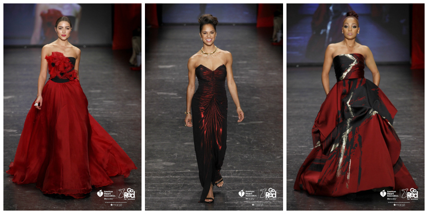 NYFW Review: Go Red for Women Red Dress Collection 2016