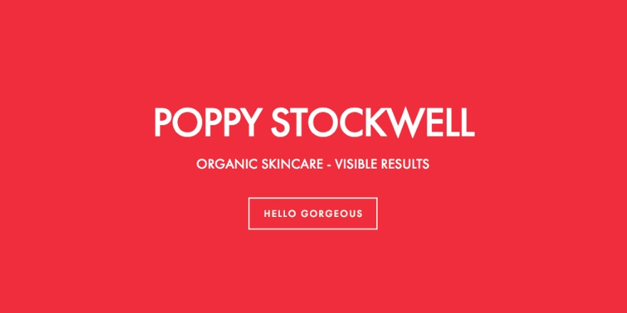 Redefine Your Skincare Regime with Poppy Stockwell