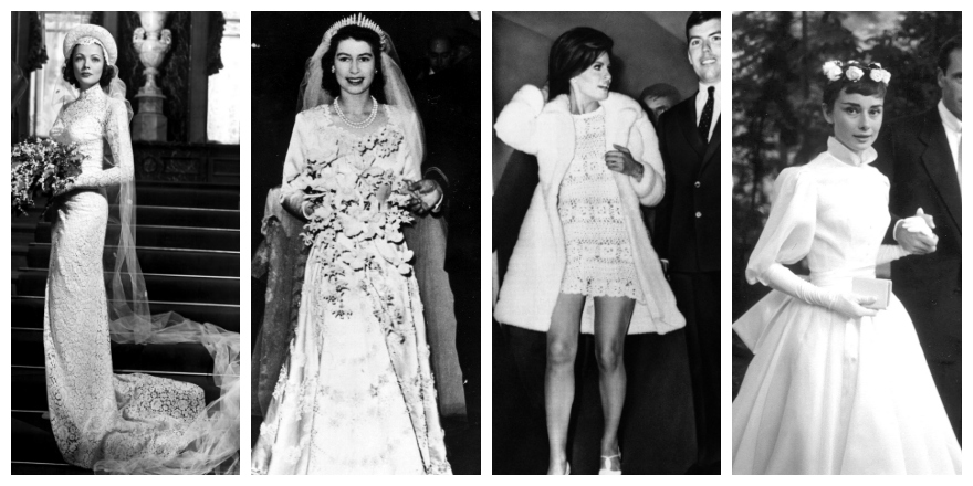 bSmart Breakdown: The Eleven Most Iconic Wedding Dresses of All Time
