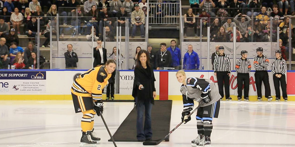 The National Women's Hockey League Gets Back on the Ice!