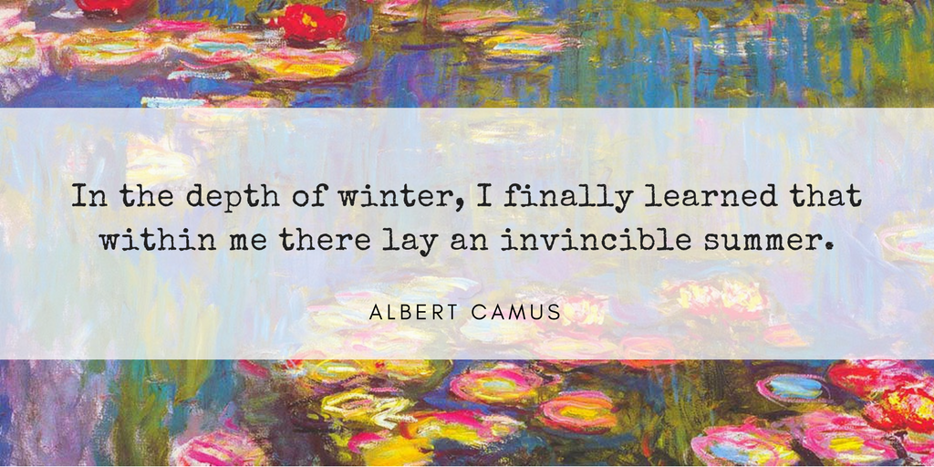Favorite Quote - Albert Camus