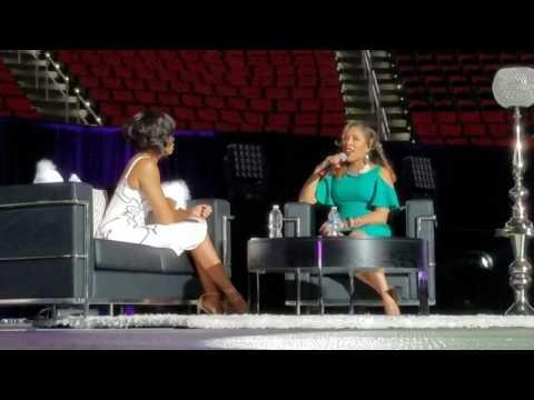 Taraji P. Henson x Karen Clark at Women's Empowerment